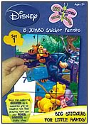 Jumbo Sticker Puzzle - Varied Themes