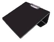 Standard Slant Board- Black No Overlay* (15 x 13