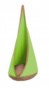 Hanging Crows Nest Swing - Outdoor/Indoor  Green/Cocoa