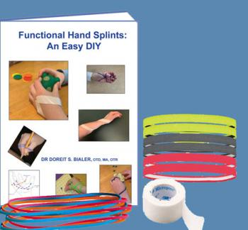 DIY Splint Material Starter Kit ONLY