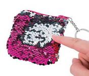reversible sequins coin pouch by pfot