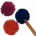 Puffer Ball Pencil Topper
