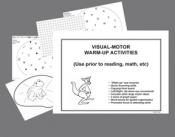 Visual motor warm-up activities