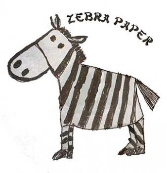 Zebra Paper - NEW Spacing paper!