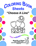 "PFOT ""Choose a Line"" Coloring Book"